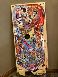 Autographed Pinball Play Field