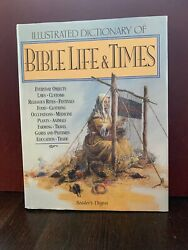 Readers Digest Illustrated Dictionary Of Bible Life And Times 1997 Hcdj