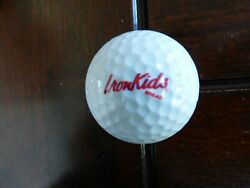 Collectible Iron Kids Bread Souvenir Golf Ball Wilson Offers OK