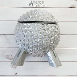 New 2020 Disney Parks Epcot Spaceship Earth Ceramic Cookie Jar Canister Decor