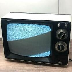 Tv Rca Vintage Television Tested And Working White Solid State