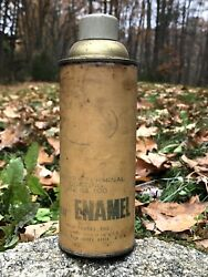 Rare Vintage Early Mack Truck Parts Enamel Spray Can Auto Gas Oil Man Cave