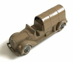 Vintage Barclay Manoil Or Similar Usa Military Diecast Truck Model C.1930s