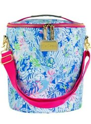 NWT Lilly Pulitzer Insulated Beach Cooler Lion Around $32.99