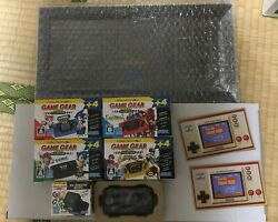 Game Gear Micro Dx And Nintendo Super Mario Bros Game And Watch 2 Lot