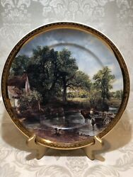 Art Collection By Arklow 10.5 Decorative Plate,made In Ireland.