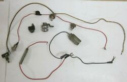1961 Triumph Tr3a Tr3 Tr2 Dash Wiring Light Switch Parts Lot Used Orig