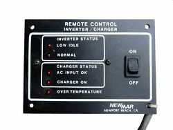 Newmar 11352 Remote Control Inverter / Charger On / Off Switch Panel With Cable