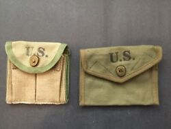 M1 Carbine Butt Stock Ammo Pouch And First Aid Pouch