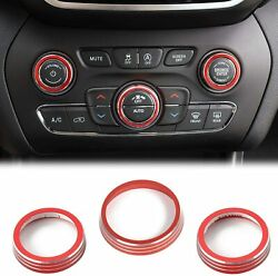 Air Conditioner Trim Cover Audio Switch Knob For 2014-2019 Jeep Grand Cherokee