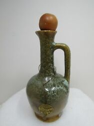 Rare Antique Coty Informal Fragrance Pottery Perfume Bottle From 1940and039s 5 Oz.