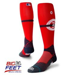 Size Large Stance Boston Red Sox MLB London Series Collection Performance Socks