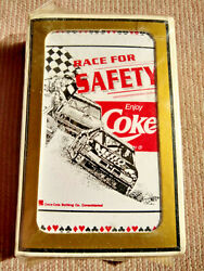 New Gemaco Coca Cola Race For Safety Enjoy Coke Deck Of Playing Cards Unopened