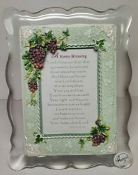 A Home Blessing Musical Frame Plays The Lordand039s Prayer Tune New In Box