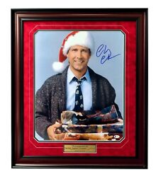 Chevy Chase Signed Christmas Vacation 16x20 Photo Framed Bas Coa Autograph Gifts