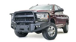 Fab Fours New Premium Winch Front Bumper W/ Full Guard For 19-20 Ram 2500 / 3500