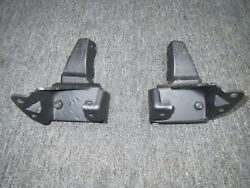 69-70 Mustang 200 6 Cylinder Motor Mounts With Frame Brackets Rare Unavailble