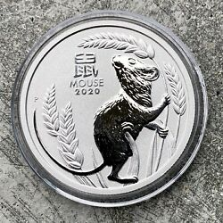 2020 Year Of The Mouse Australia 1oz .9995 Fine Platinum - First In The Series