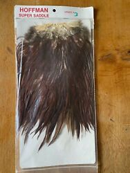 Hoffman Hackle Neck Saddle Whiting Farms Fly Tying Material Vintage Like Metz
