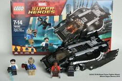 Lego Black Panther Talon 76100 Sealed Very Rare New With 4 X Minifigures