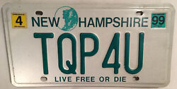 Vanity Tqp For You License Plate Team Qualified Professionals Quality Program Nh