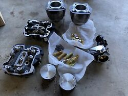 Harley Davidson Milwaukee 8 Eight Stock Top End Cylinders And Heads Throttle