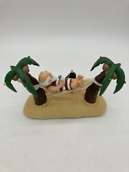 Gemmy Animated Swinging Santa Claus Sings Its 5 Oand039clock Somewhere Lights Up