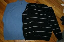 Men;s cashmere sweaters John NORDSTROM and CELIO Size L $19.00