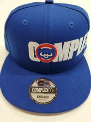Nwt Chicago Cubs Complexcon New Era Blue Snapback Hat Cap New With Tags Takashi