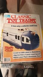 8 Old Vintage Trains Toys Models Magazines From U S A 1998