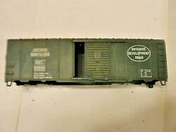 Ho Scale Box Ontario Dev Rd O/s Manufactured Rr Restoration Required Shell Only