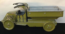 1920's J. Chein And Co Tin Mack Army Truck Usa