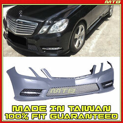 Facelift Amg-sport Style Front Bumper Kit For Mercedes-benz 12-13 E350 E550 W212
