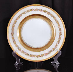 Ceralene Limoges Dinner Plate Imperial Imperiale Gold Raynaud 5 Available