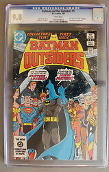 Batman And Outsiders 1 First Full Katana Cw Tv Arrow Suicide Squad Cgc Nmmt 9.8
