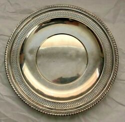 Sterling Silver 2854 Tray Reticulated