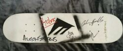 2010 Team Emerica Andrew Reynolds And Others Signed Autograph Skateboard Deck