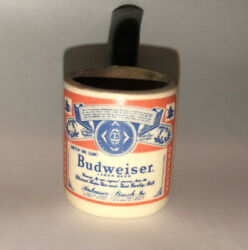 Budweiser Tobacco Pipe -vintage Advertising Great Condition.