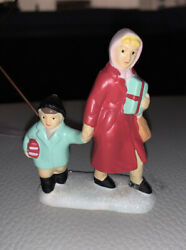 Its A Wonderful Life Village Target Figures Mom And Child