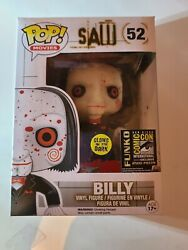 Funko Pop Billy Saw-bloody Comic Con 2014. This Will Also Come In A Hard Stack.