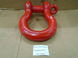 Crosby G-209 13-1/2 Ton Screw Pin Rigging Or Lifting Anchor Shackle 1-1/2 D876