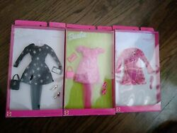 BARBIE Fashion Avenue PARTY IN PINK EVENING STAR BATHTIME CHAT MIP LOT OF 3 #1 $55.00