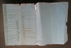 Billie Holiday Lady Sings The Blues Movie/music Contract Sold 1000 By Estate