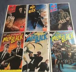 Men In Black Comics Aircel Complete 1990 amp; 1991 Runs 1 2 3 Bagged amp; Boarded