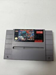 Stree Fighter Ii Super Nintendo Snes Game Tested-working Original Pre-owned