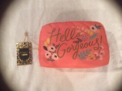 Rifle Paper Co LeSportsac Hello Gorgeous Large Cosmetic Bag New With Tag $41 $33.00