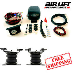 Air Lift Load Lifter 5000 Air Springs With Load Controller Ii 2019-2021 Gmc 1500
