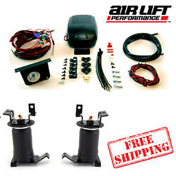 Air Lift Ride Control Air Springs With Load Controller Ii 05-21 Toyota Tacoma