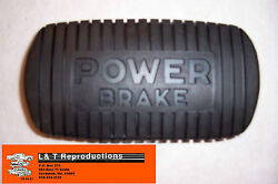 1955 56 57 Chevy Rubber Power Pedal Pad Belair Sedan Nomad Convertible Wagon