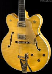 Gretsch G6122tfm-am Players Edition Country Gentleman Amber Satin 228